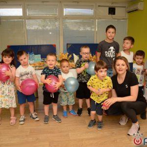 Mama i djeca proslavile zadnji ovosezonski trening u Fitness centru SCM