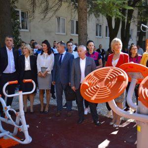 SCM otvorio prvi street workout park u Mostaru